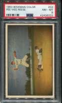 1953 Bowman Baseball #033 Pee Wee Reese PSA 8 NM/MT  P42406003