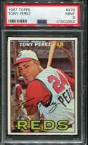 1967 Topps Baseball #476 Tony Perez SP PSA 9 MINT  P41502952