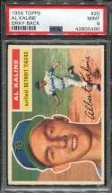 1956 Topps Baseball #020 Al Kaline PSA 9 MINT  P42805490