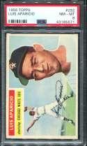 1956 Topps Baseball #292 Luis Aparicio RC PSA 8 NM/MT  P43185571