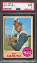 1968 Topps Baseball #150 Roberto Clemente PSA 9 MINT  P43530728