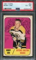 1967 Topps Hockey #092 Bobby Orr  PSA 6 EX/MT  P43342744