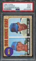 1968 Topps Baseball #177 N.Ryan RC/J.Koosman RC PSA 9 MINT MC P45032599