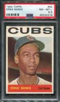 1964 Topps Baseball #055 Ernie Banks PSA 8.5 NM/MT+  P45032316