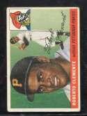 1955 Topps Baseball #164 Roberto Clemente RC STARX 3 VG  CS26543