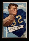1952 Bowman Small Football #029 Hugh McElhenny RC STARX 8 NM/MT (CS26734)